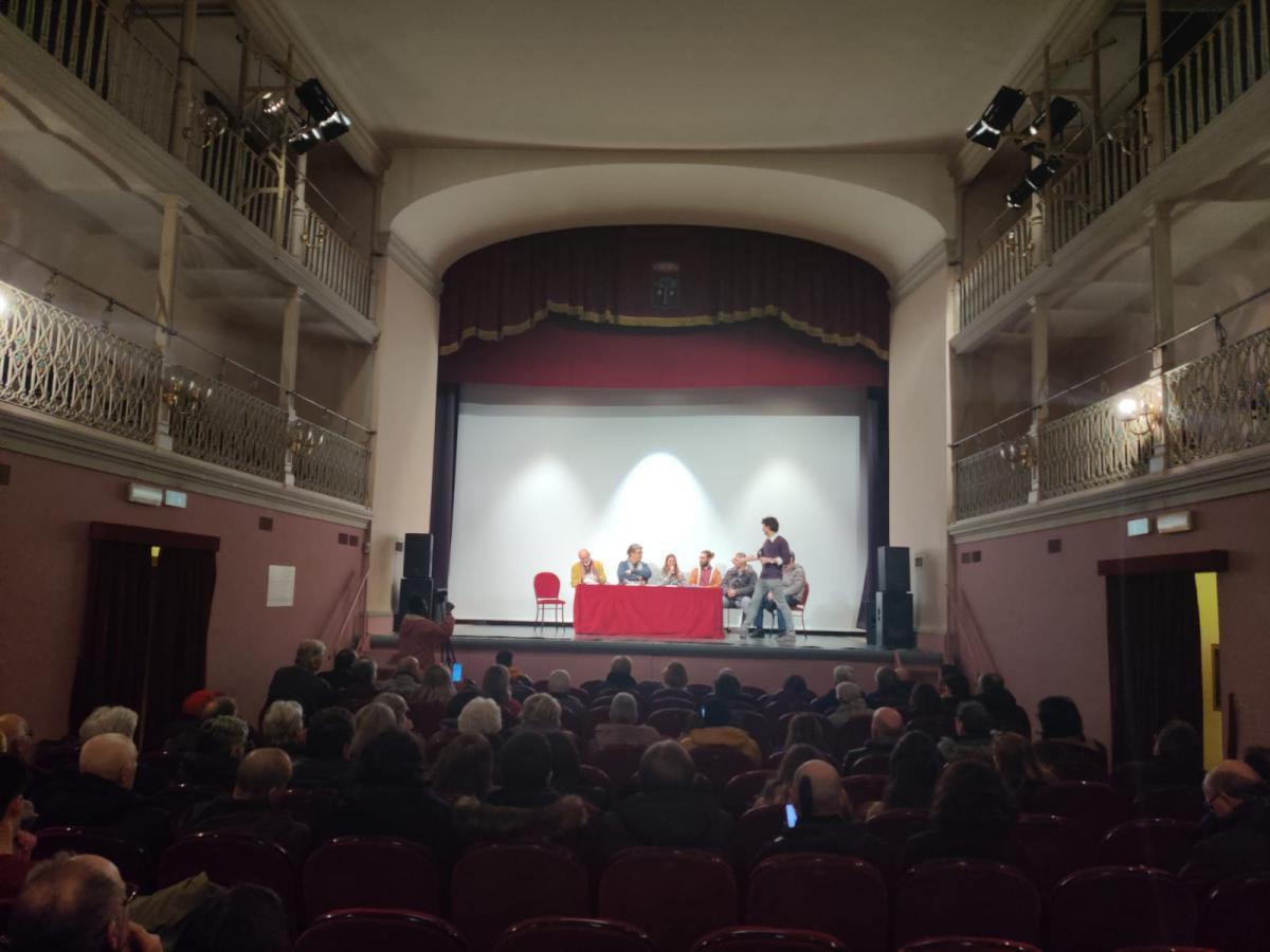 Don Massimo Biancalani ospite al Teatro Giotto