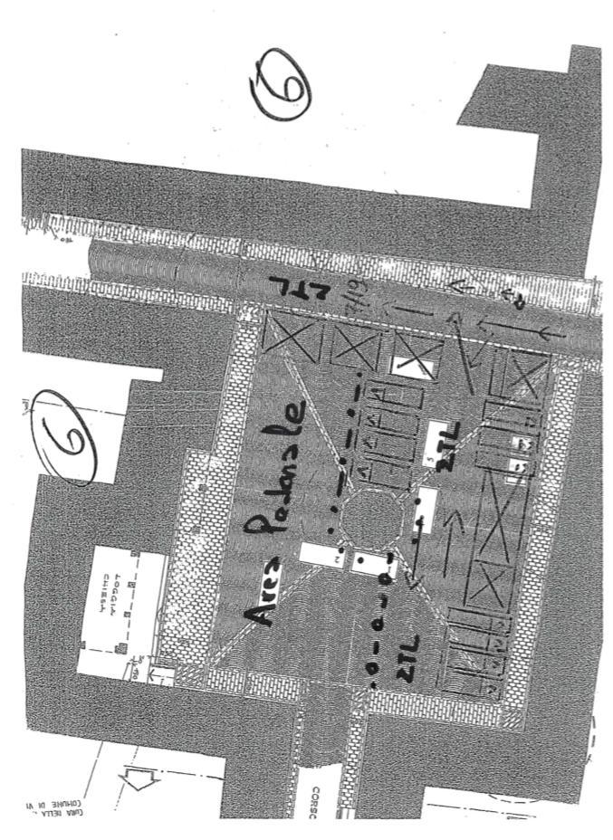 Nuova viabilità in Piazza Giotto. Chiusa al traffico Via Garibaldi.