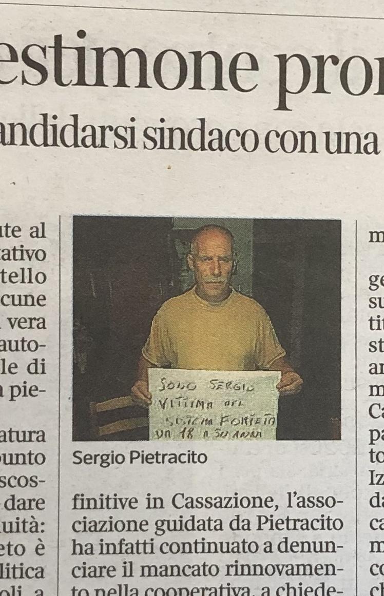 Pietracito candidato Sindaco a Vicchio: fra conferme, smentite e chiarimenti.