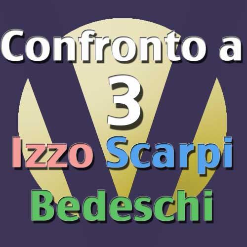 Confronto fra i candidati Izzo-Scarpi-Bedeschi