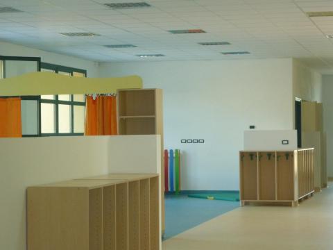 Tagliata una sezione alla scuola dell'infanzia a Vicchio. Piazzano salva.
