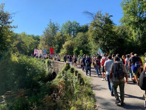 Marcia di Barbiana 2020 - Soddisfazione del Comune di Vicchio