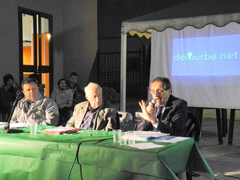 Il confronto fra i candidati Bedeschi-Scarpi-Izzo